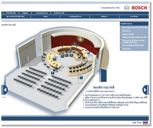 Bosch full flash microsite