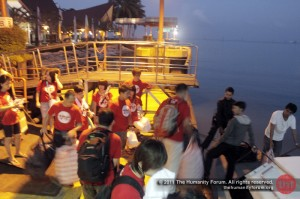 Boarding at Bintan Island