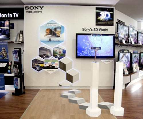 In-store display graphics (Small Size)