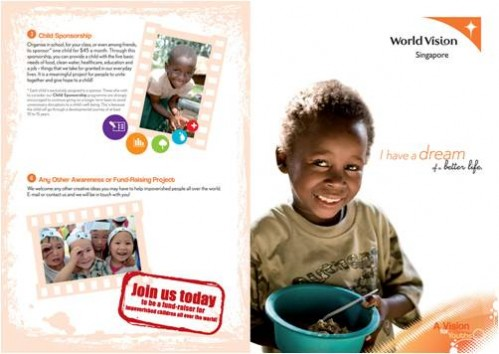 World Vision Brochure